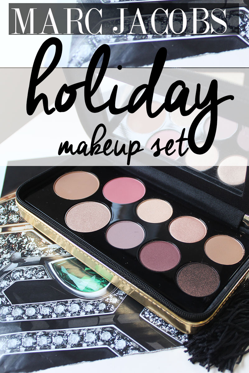 The Limited Edition Marc Jacobs Object of Desire holiday makeup set is stunning. Check out these swatches, look, and review from this holiday makeup set.