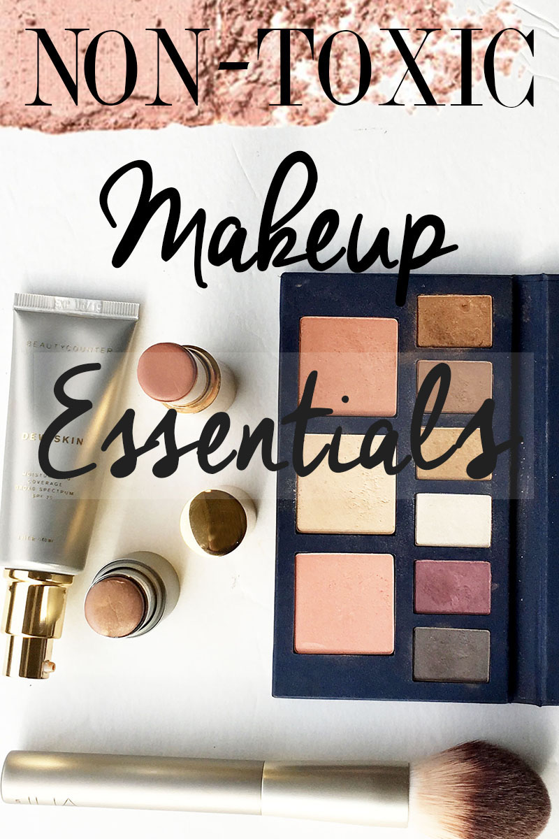 Non-Toxic Makeup Essentials guide for safe cosmetics
