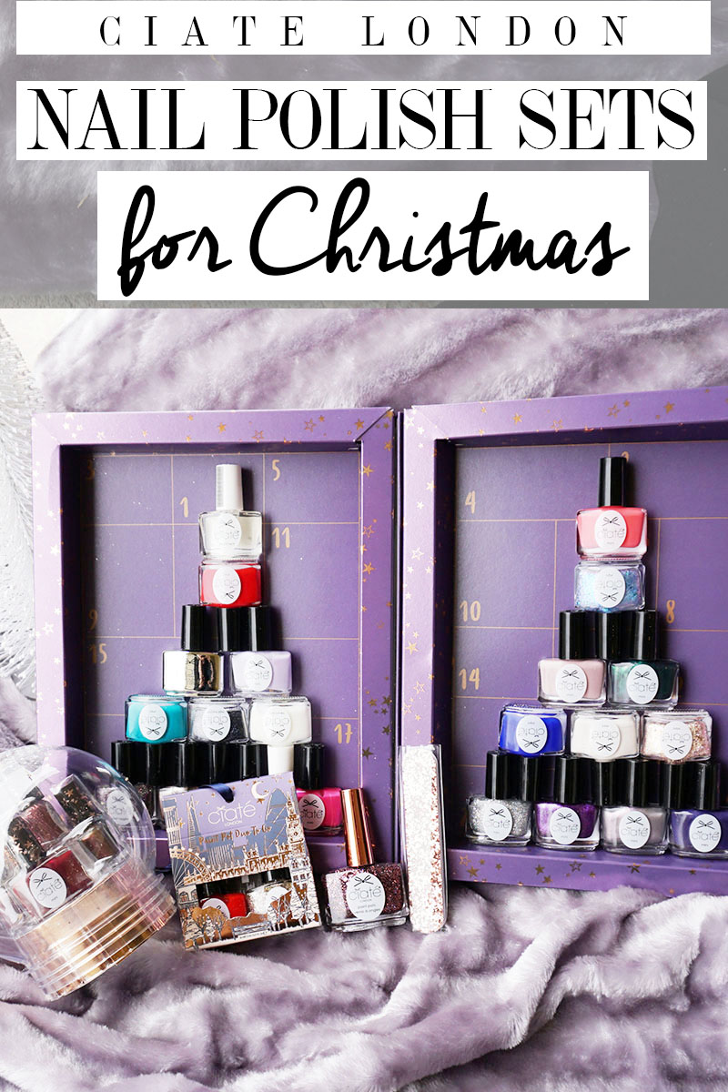 ciate london holiday nail polish gift sets for Christmas presents