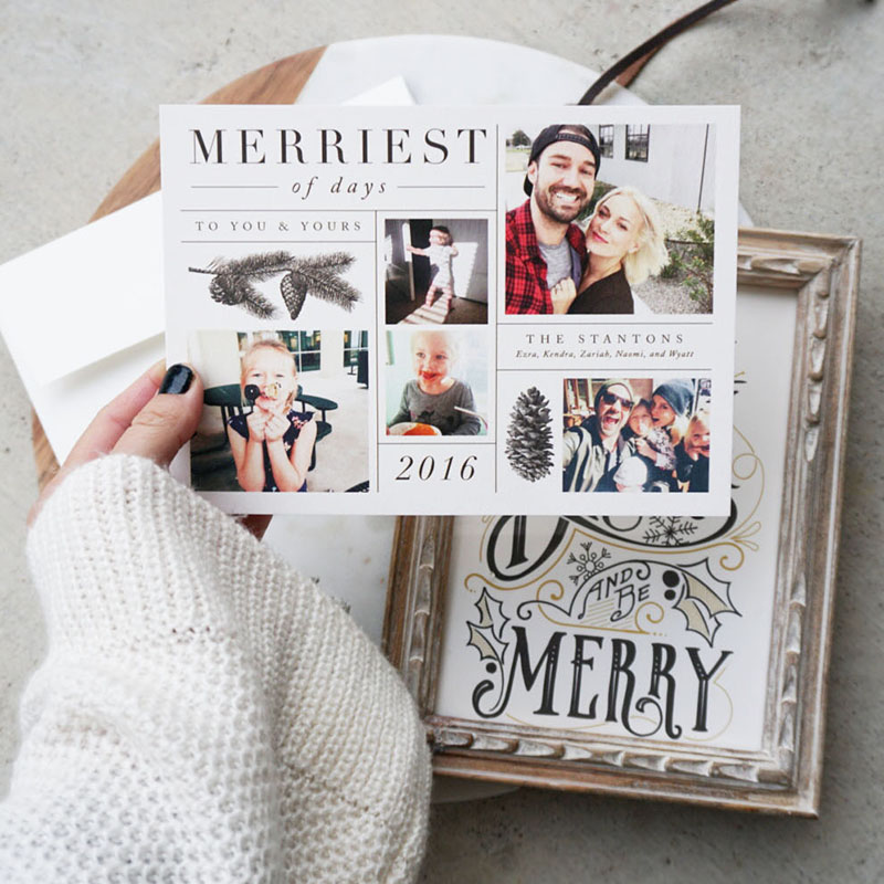 holiday art to gift from minted