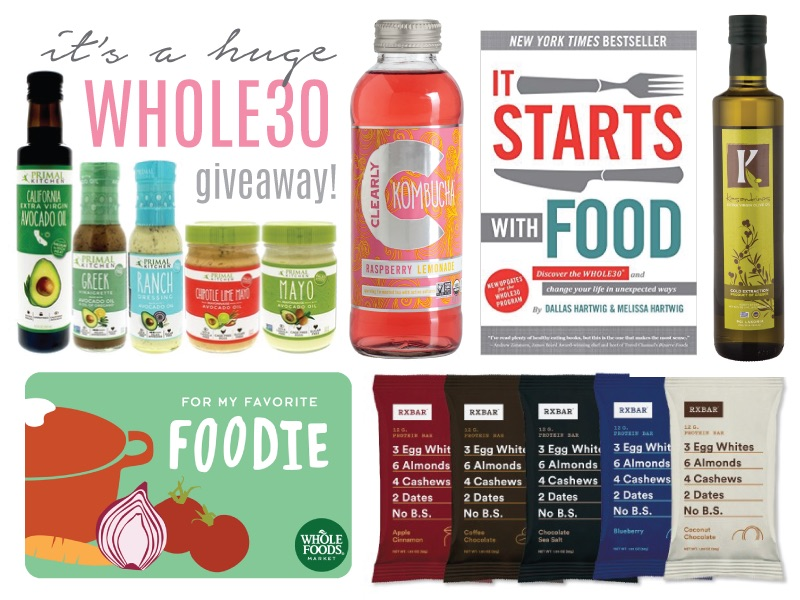 whole 30 giveaway
