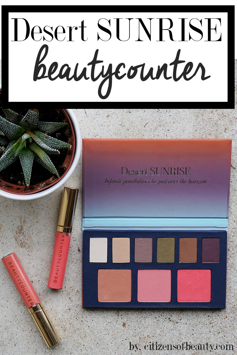 Check out thi gorgeous spring makeup collection from Beautycounter that happens to also be non-toxic.