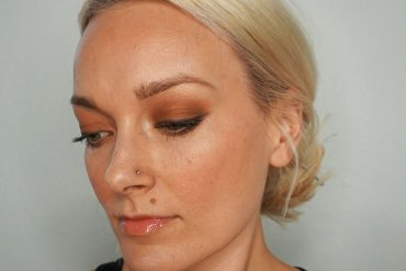 Non-Toxic makeup look using the BeautyCounter Desert Sunset Palette