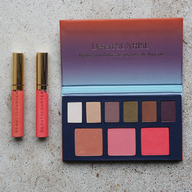Desert Sunrise makeup palette and how to use it