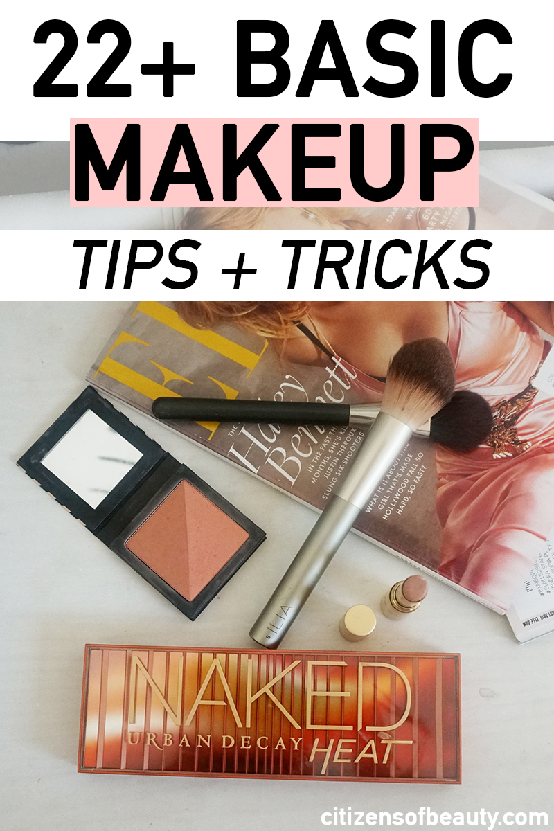 22+ basic makeup tips and tricks
