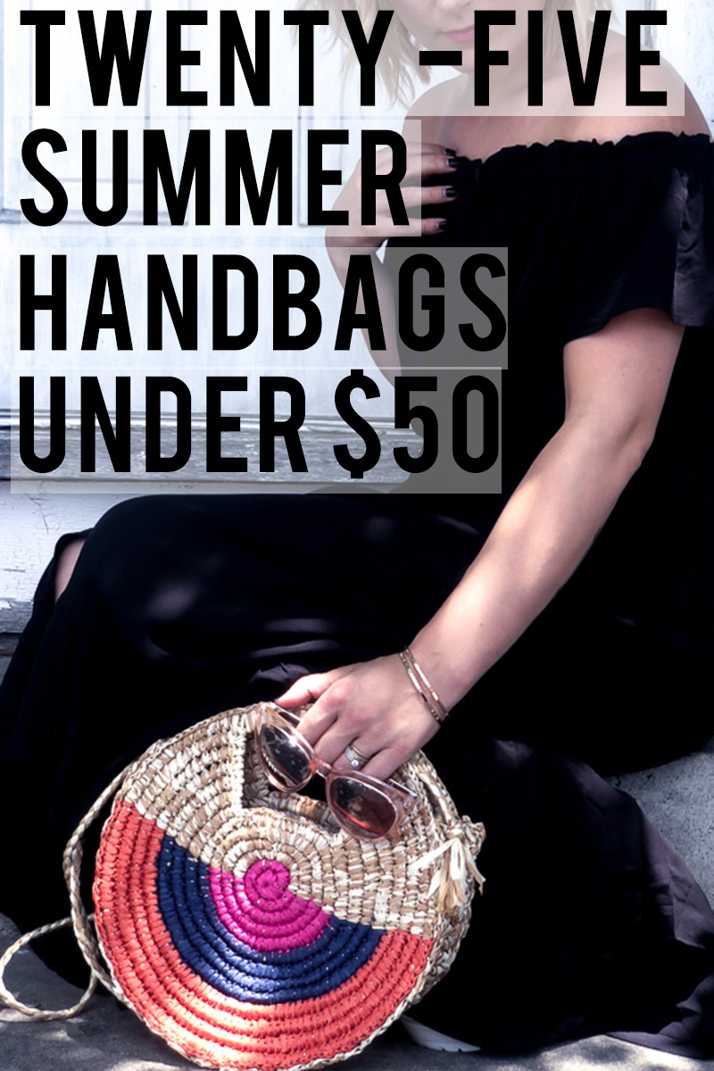 25 woven straw and bamboo summer handbags under $50