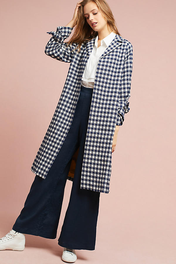 gingham jacket for summer and fall