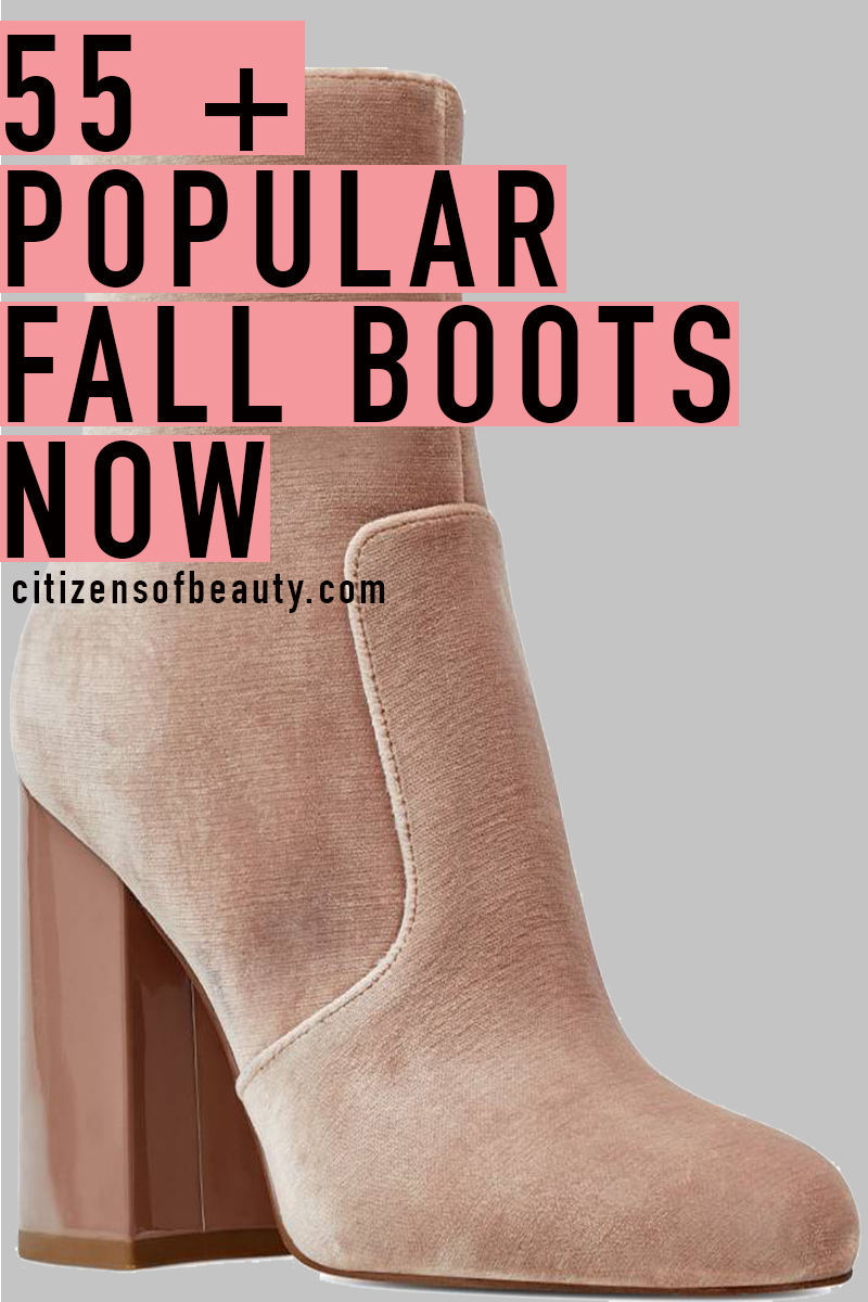 55 popular fall boots to own now