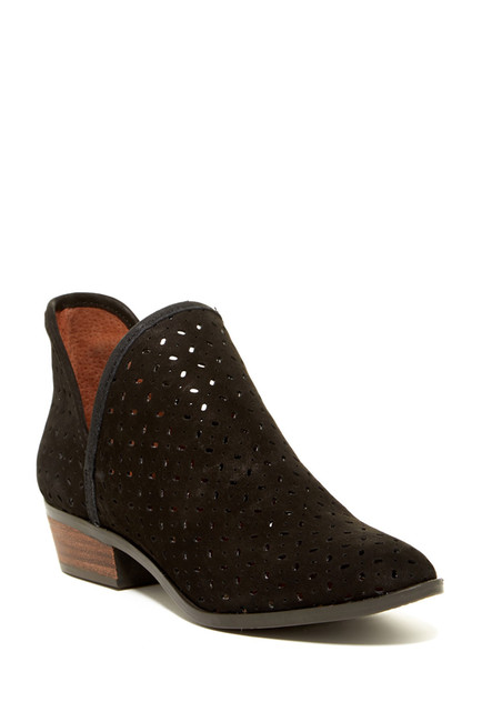 Lucky Brand Perforated Bootie on Clearance for 38% off