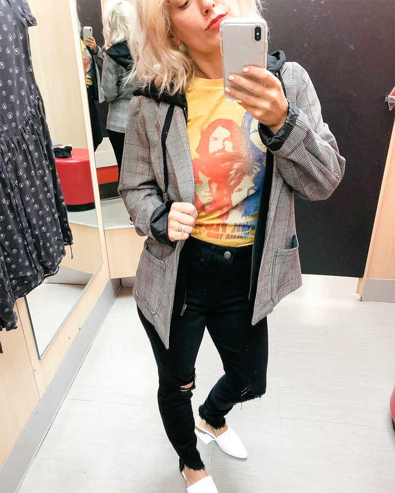 90's style try on haul at Target with style blogger Kendra Stanton