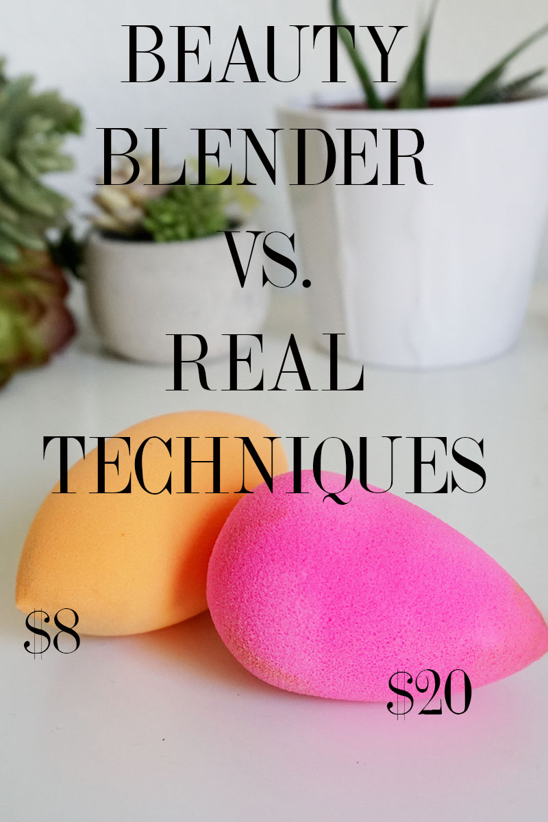Real Techniques makes a beauty blender dupe that performs almost identicle to the origional pink tear drop shaped makeup sponge. Check it out.
