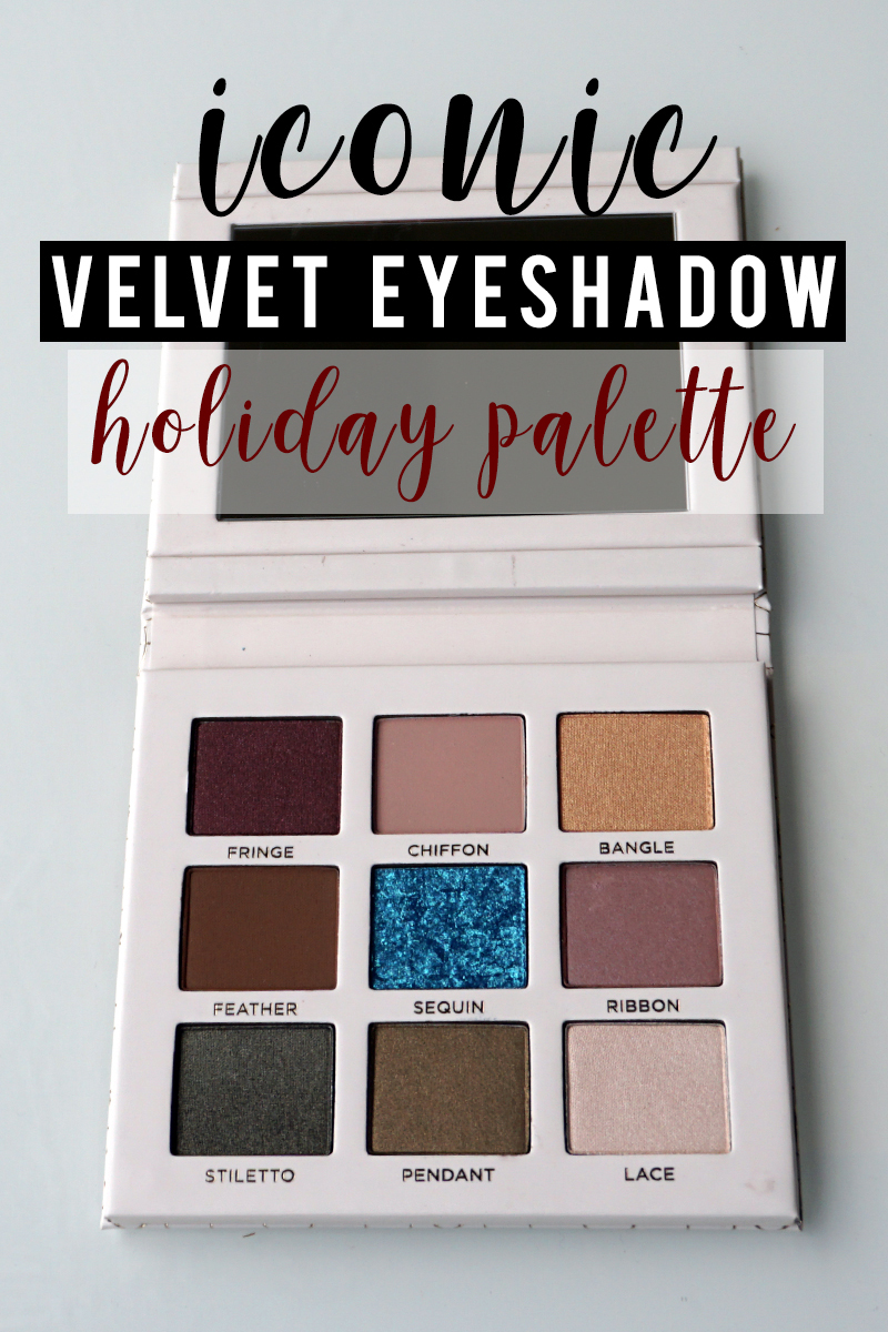 Beautycounter holiday iconic velvet eyeshadow palette is a gorgeous eyeshadow set of 9 pigmented shades that are non-toxic and safe. Check out these beautiful swatches and makeup looks using this palette with makeup artist and beauty blogger, Kendra Stanton.jpg