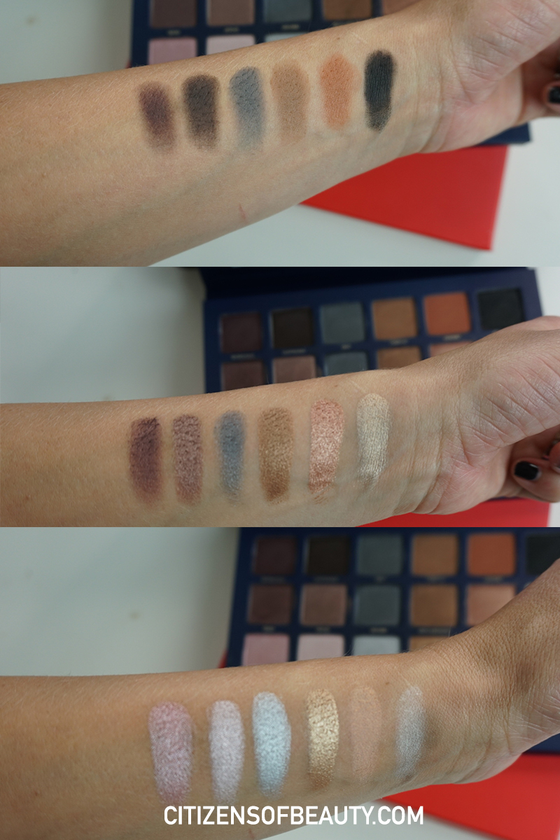 Beautycounter non-toxic makeup Holiday Ultimate Nudes eyeshadow palette swatches and makeup looks