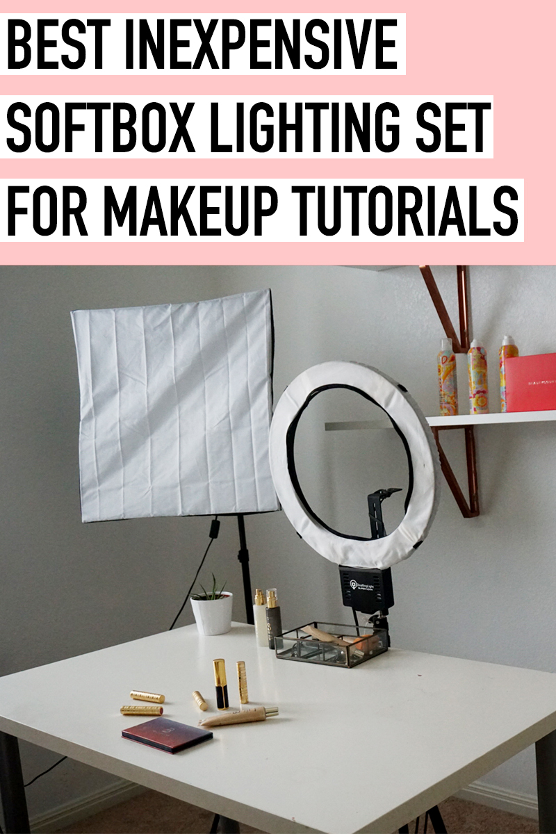 best inexpensive softbox lighting for makeup tutorials