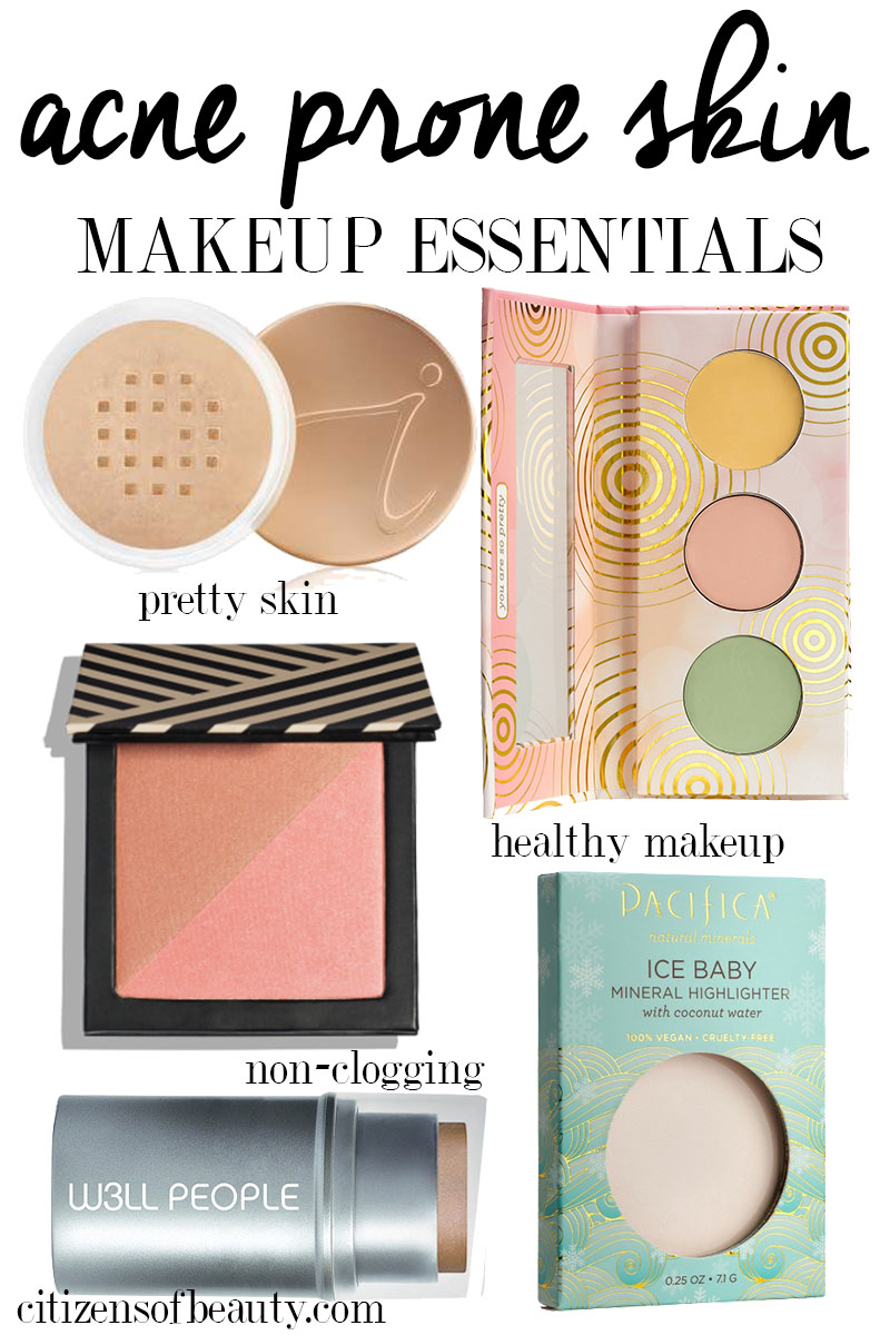 Best makeup essentials for acne prone skin