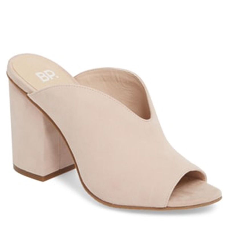 BP light blush mule nordstrom anniversary sale