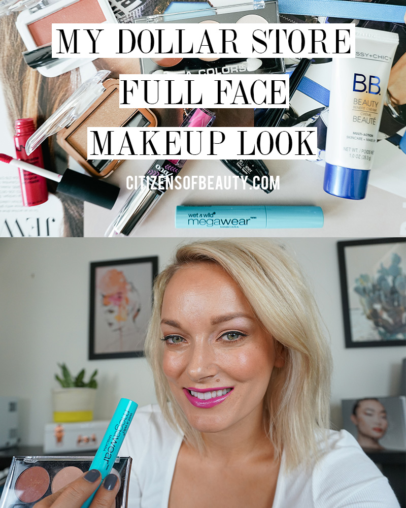 Check out my full face of dollar store makeup and what products I love and hate!