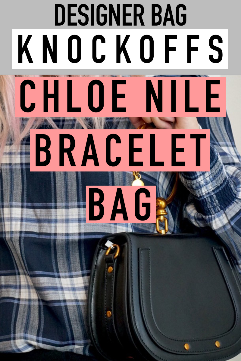 Chloe Nile Bracelet Bag knockoff that looks similar to the real purse