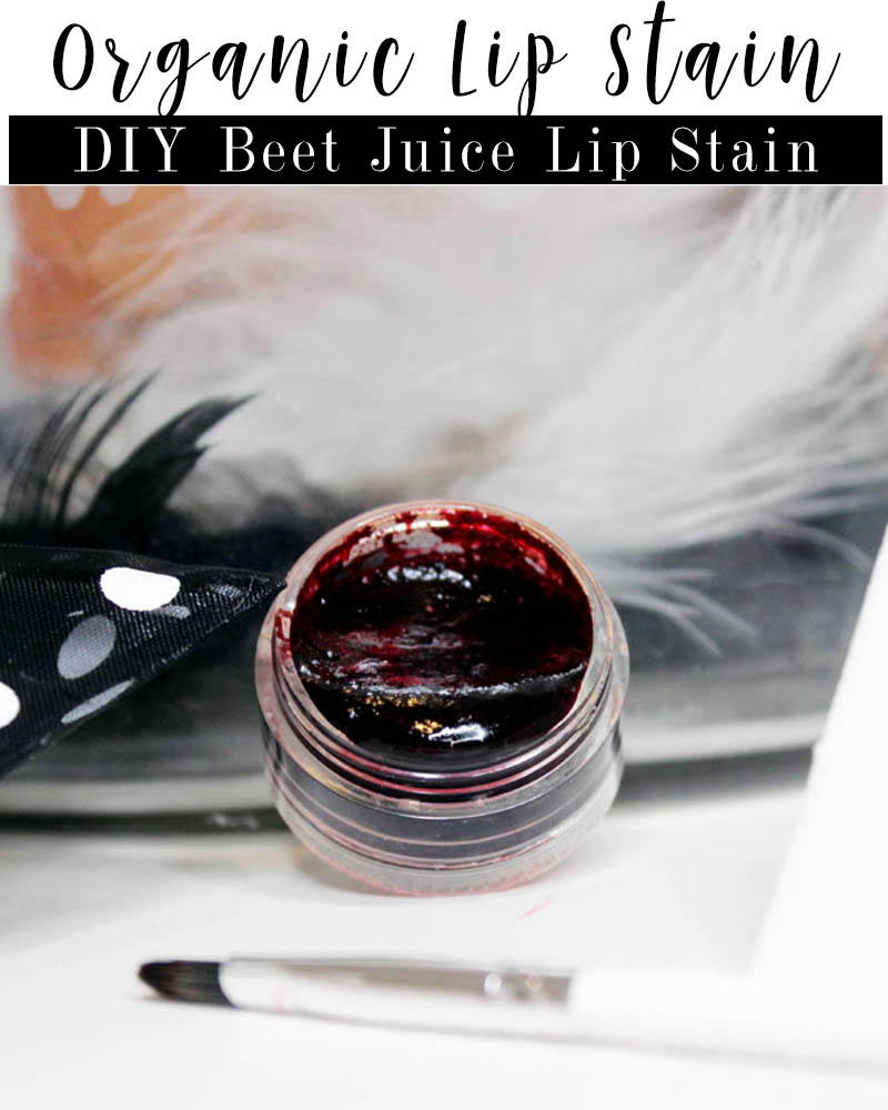 DIY Organic Lip Stain Using Beet Juice with Beauty and Lifestyle Blogger, Kendra Stanton
