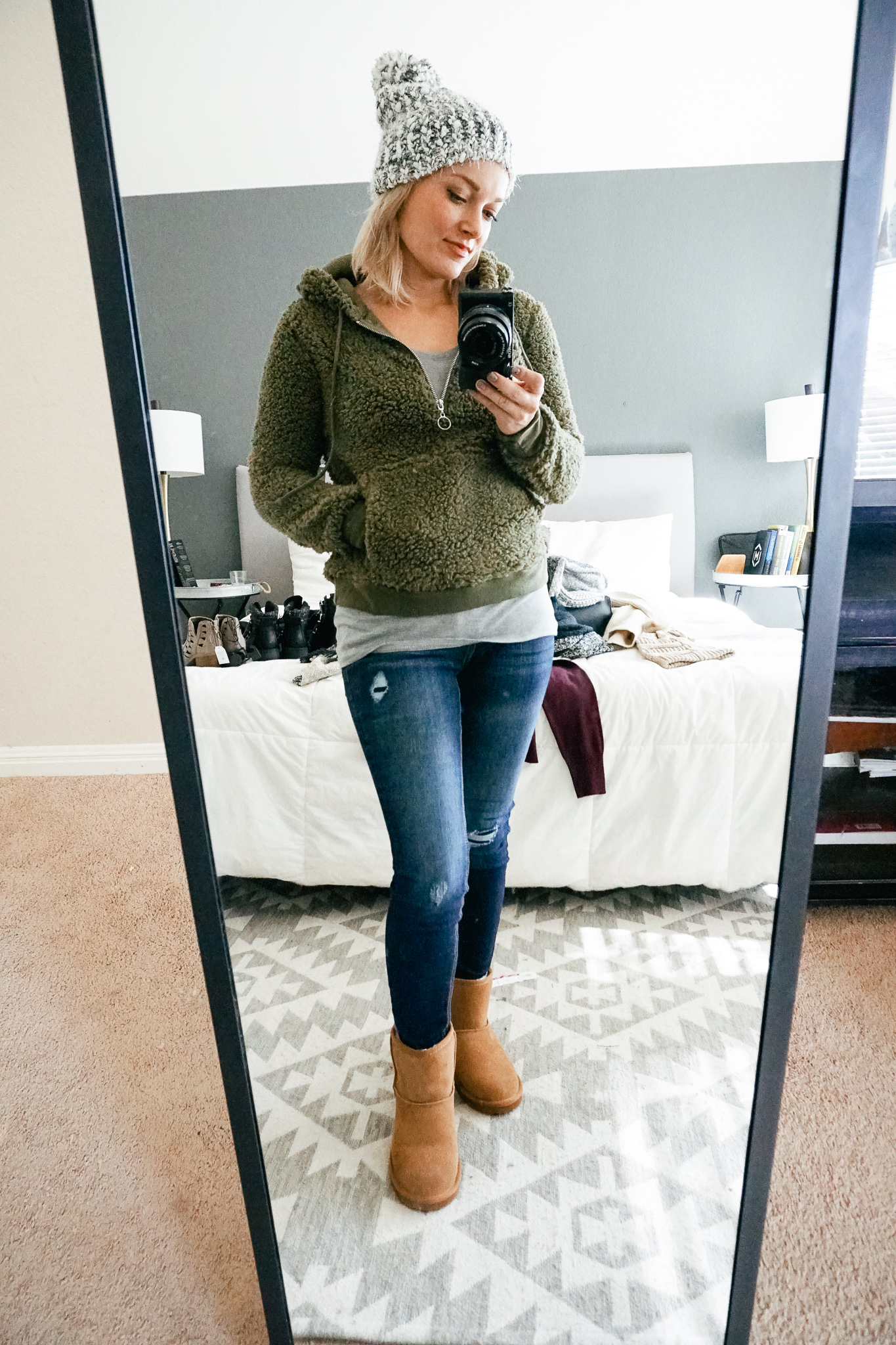 Walmart Fall/Winter Clothes try on haul with beauty and style blogger Kendra Stanton