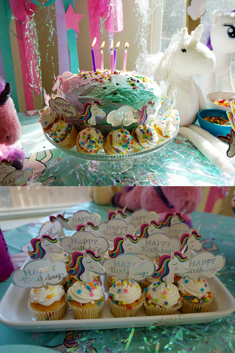 Easy Unicorn themed birthday party for kids