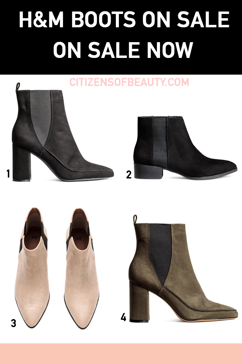 All of the best H&M boots on sale right now for fall