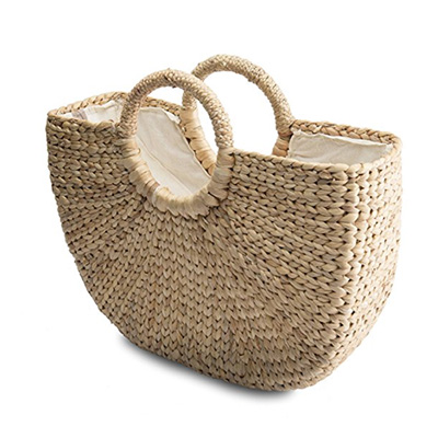 Hand Woven Retro Tote for your summer handbag Under $50