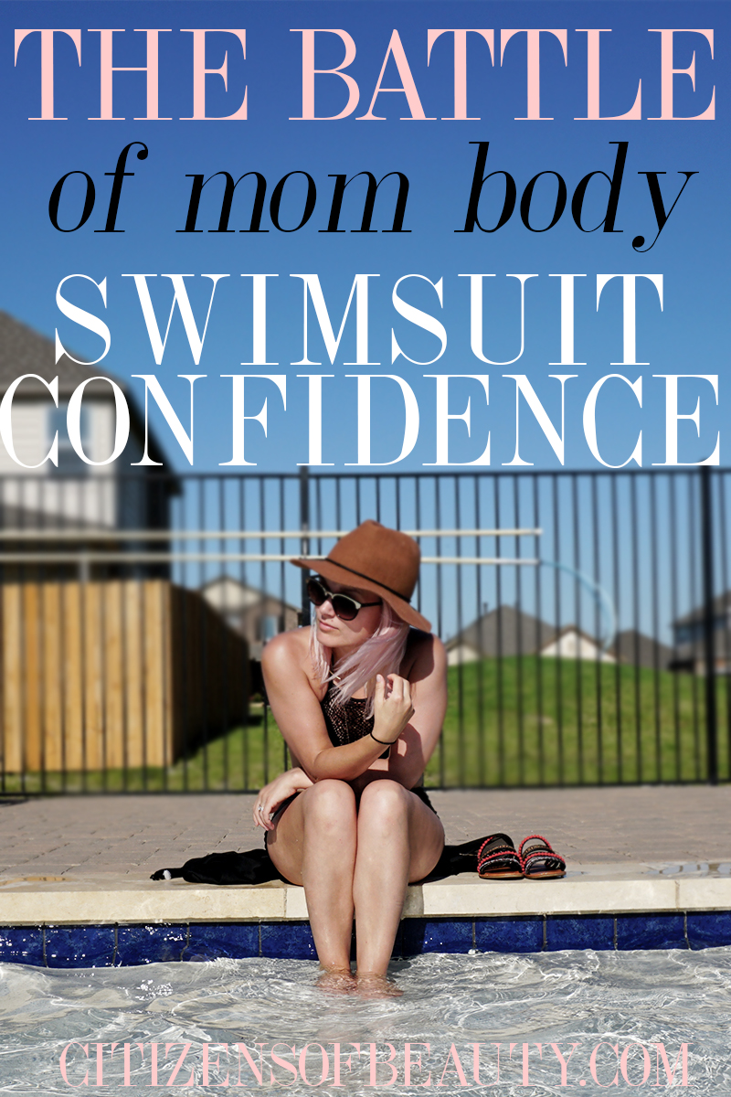 Tips on being confident in your mom body swimsuit