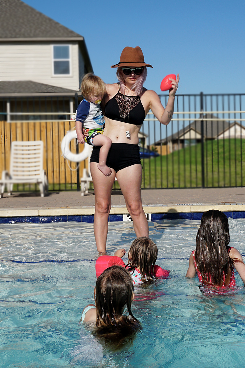 Being Confident in your mom body bikini