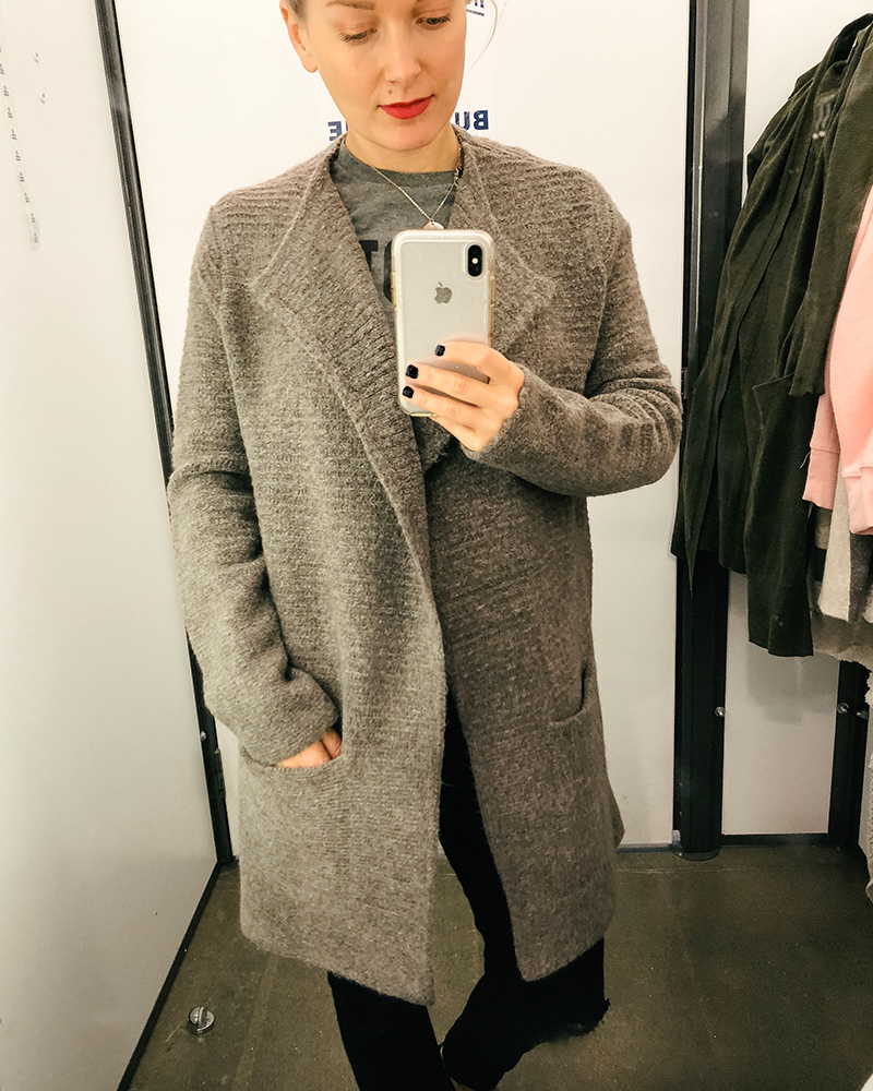 Long madewell knockoff sweater cardigan at Old Navy for a killer price