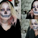 Glam Skeleton Makeup for Halloween