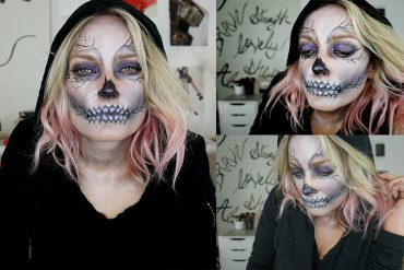Skeleton Makeup look for haloween