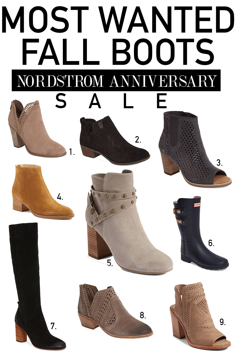 Nordstrom Best Boots for fall