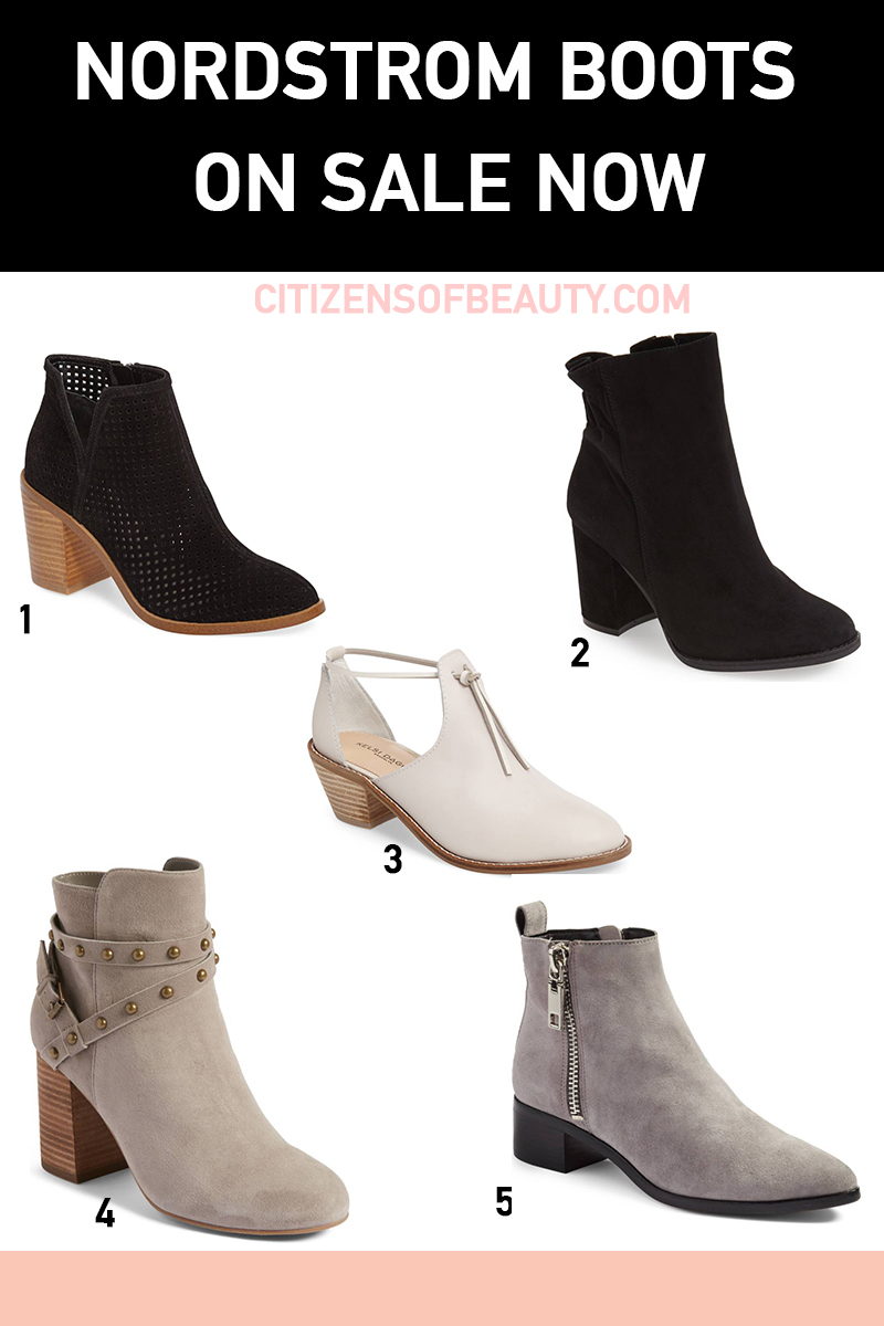 Best Nordstrom boots that are on sale and clearance right now for fall
