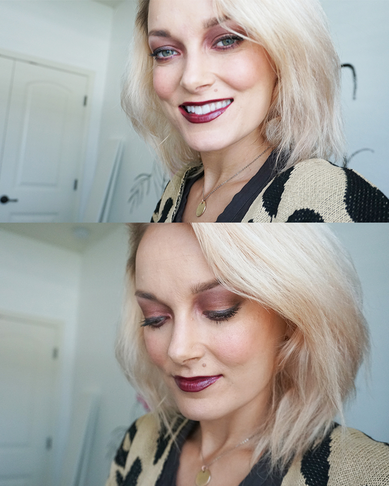 New Urban Decay Naked Cherry makeup look and review with beauty blogger, Kendra Stanton
