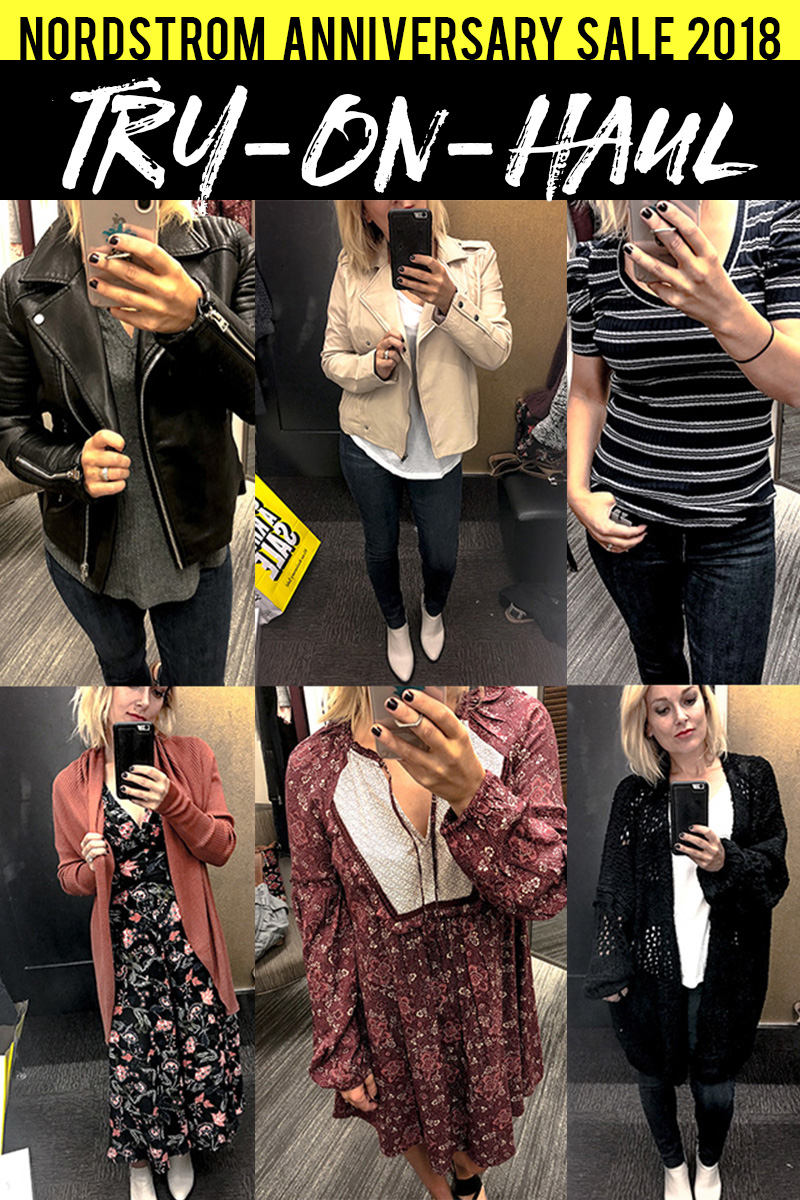 2018 Nordstrom Anniversay Sale Try On Haul with Jackets, cardigans, dresses, boots and more