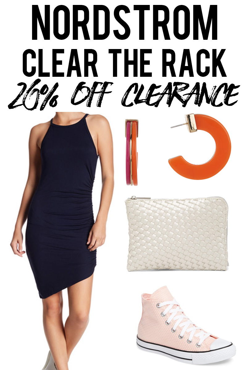 Nordstrom Clear The Rack 20% off Clearance summer picks