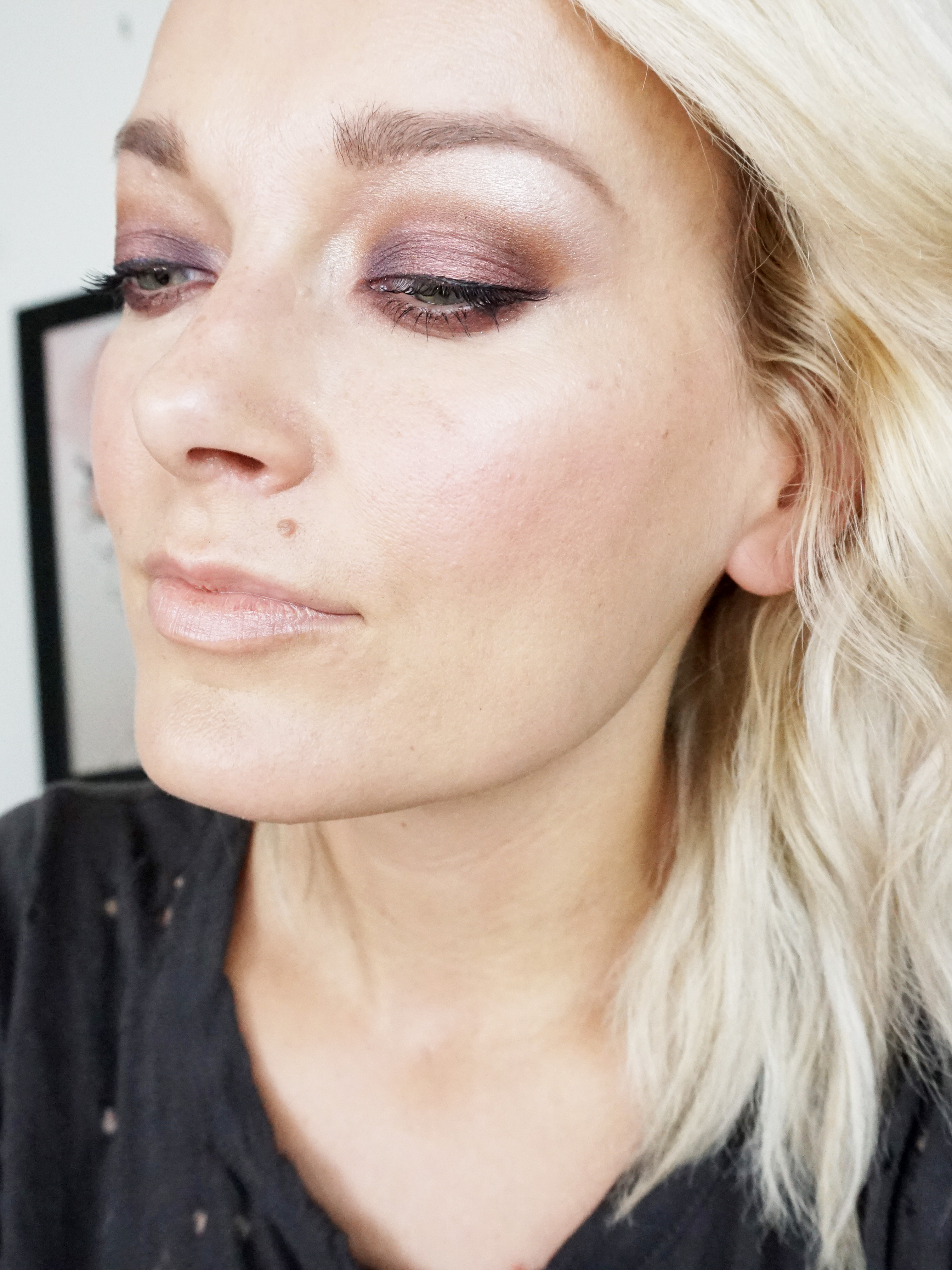 Norvina Eyeshadow Palette makeup look