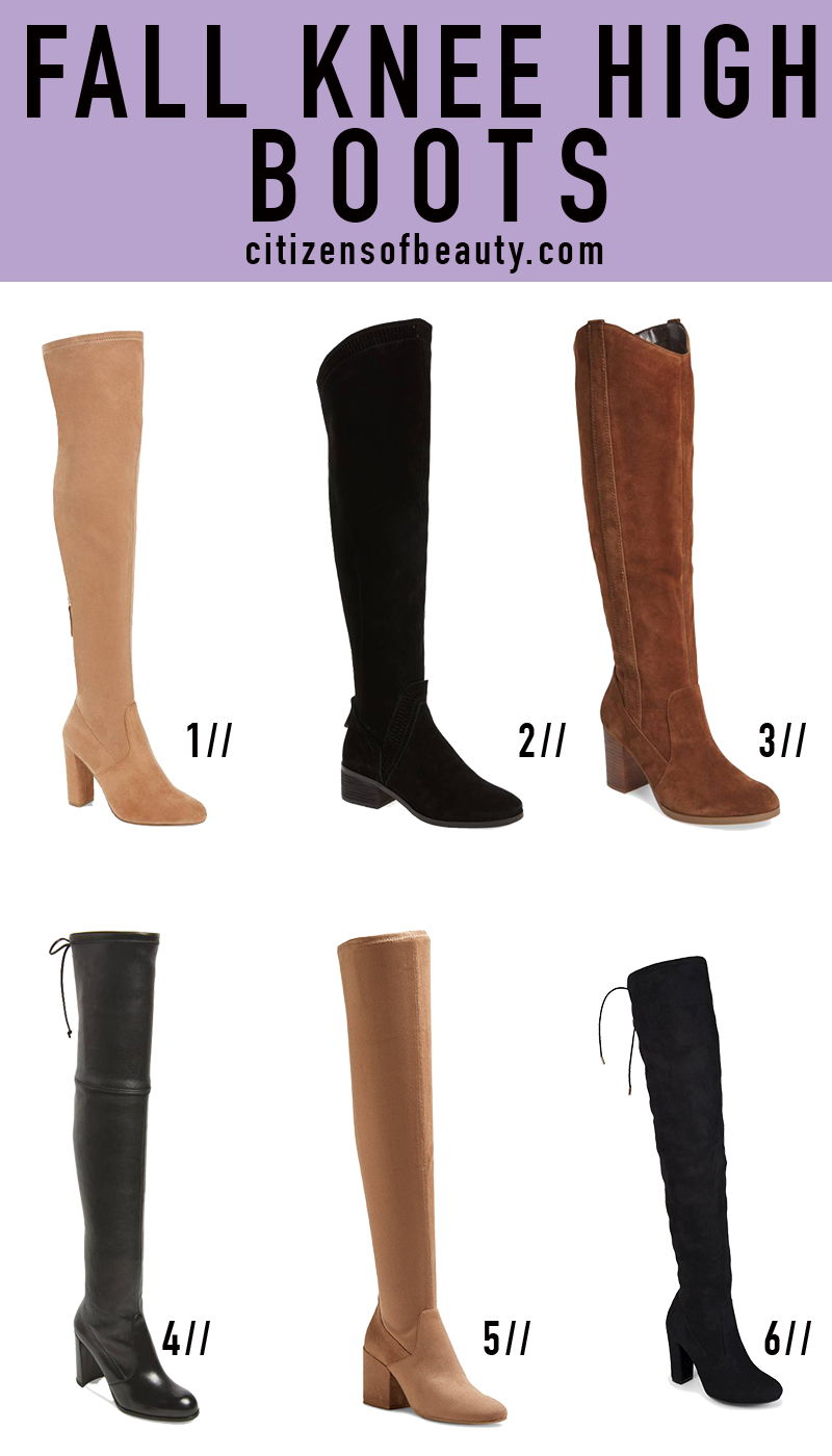 Popular fall Knee High Boots