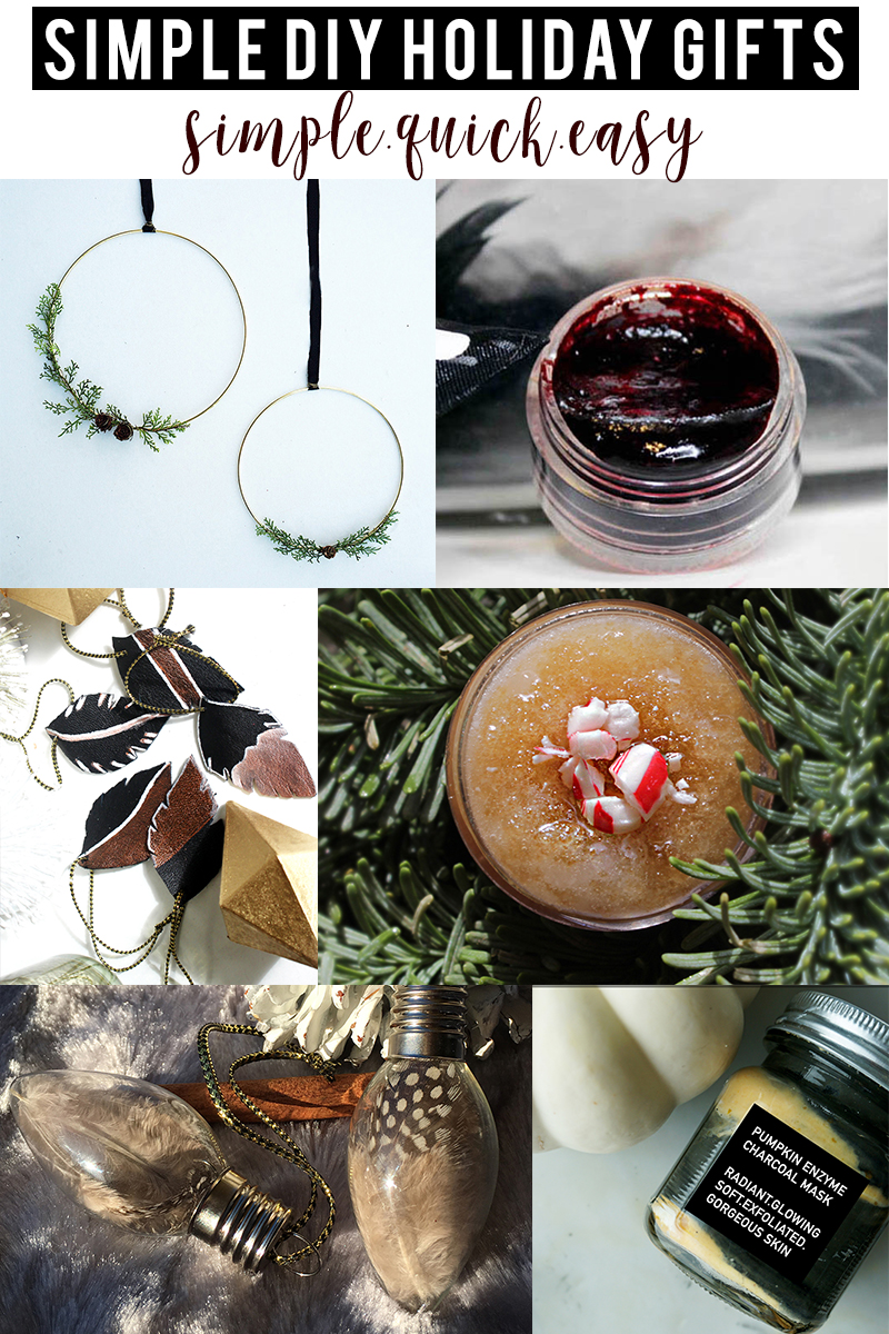 10+ Easy DIY Holiday Gift Ideas - Citizens of Beauty