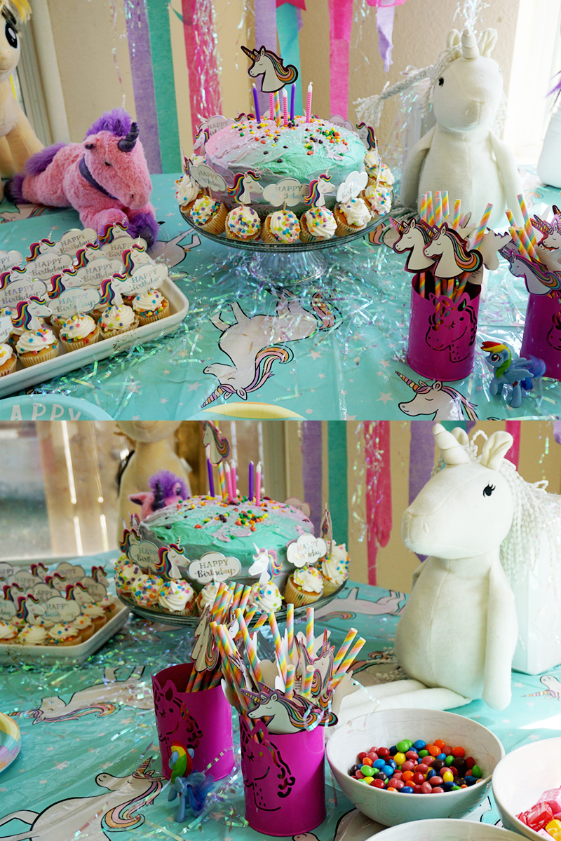 Simple Unicorn Themed Birthday for kids