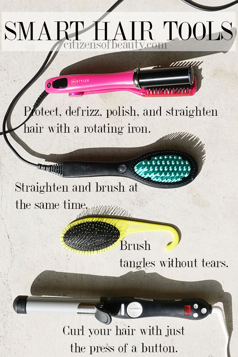 Smart hair tools that will save you time in your styling routine.