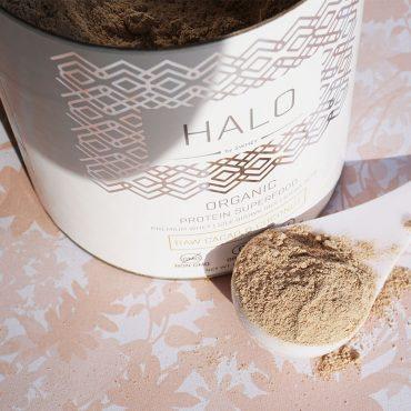 Swhey Halo Organic Protein Powder for healthy skin