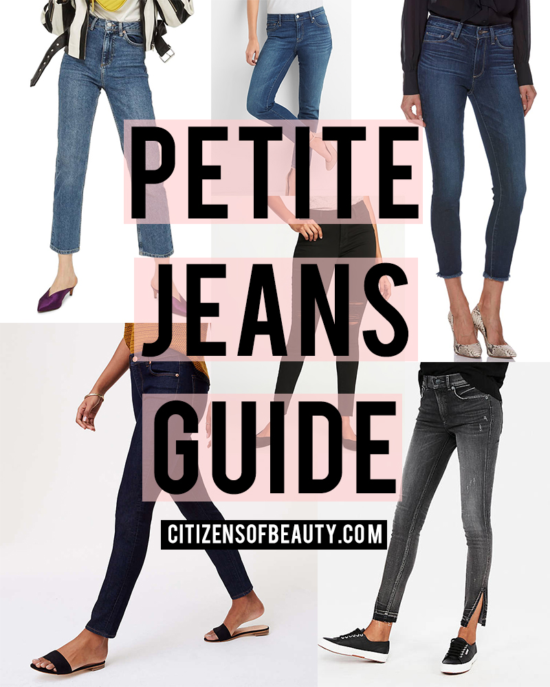 Ultimate denim jeans guide for petite girls