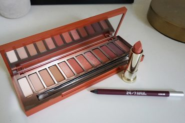 Urban Decay Heat Palette makeup tutorial and review