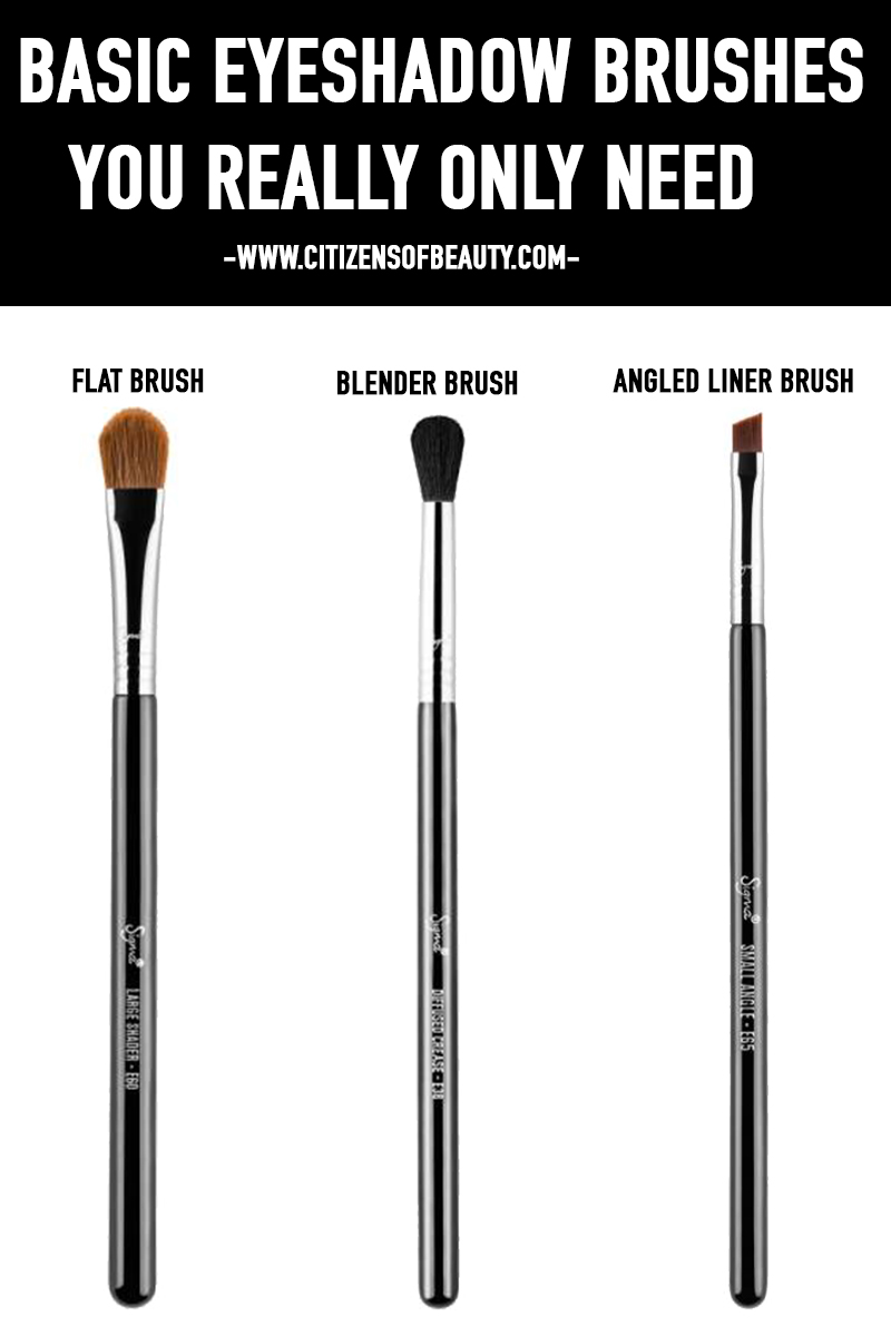 The 3 Basic Eyeshadow Brushes That You Really Need