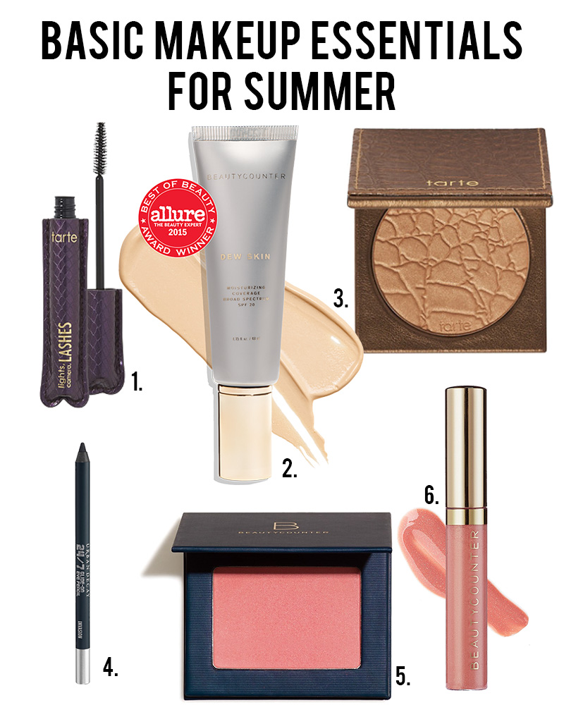 basic makeup essentials for warmer weather by Austin, TX beauty blogger Kendra Stanton