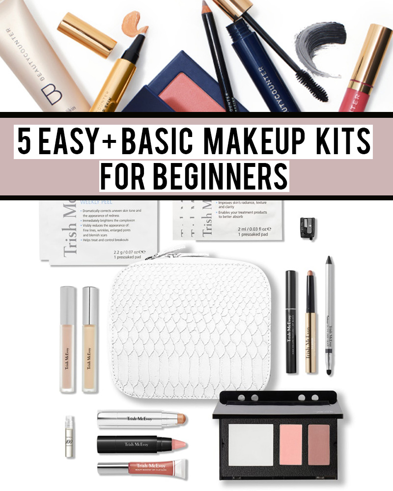 5 basic makeup kits for beginners by Austin, TX makeup artist and beauty blogger Kendra Stanton