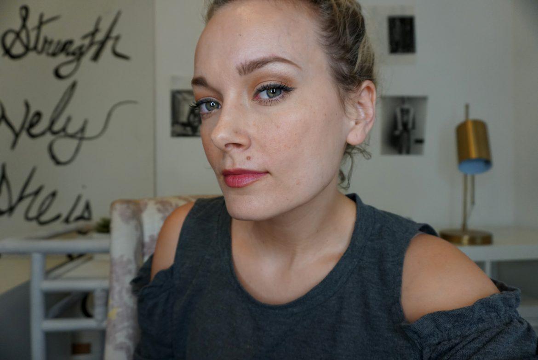 basic makeup look