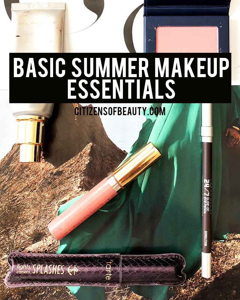 Basic summer makeup essentials by Austin, TX Makeup blogger Kendra Stanton